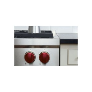 Sealed Burner Rangetop Red Knobs -