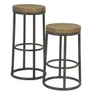 New York Round Metal Bar Stool Product Image