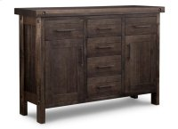 Rafters Sideboard w/2 Wood Doors & 6/Dwrs & 2/Wood Adjust. Product Image