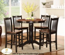 5pc/1 Pack Counter-height
