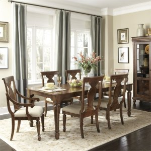 Liberty Furniture Industries 7 Piece Rectangular Table Set