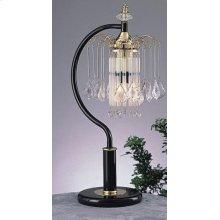 BLACK TABLE LAMP (2 IN 1 BOX)