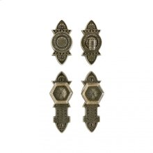 "Briggs Entry Set - 2 3/8"" x 7"" Bronze Dark Lustre"