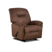 9350 - Calcutta Chocolate Rocker Recliner
