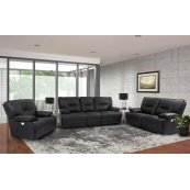 Spartacus Black Power Reclining Collection