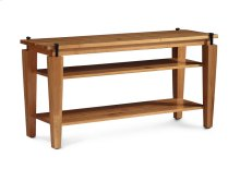 B&O Railroade Spike Open TV Stand, Large