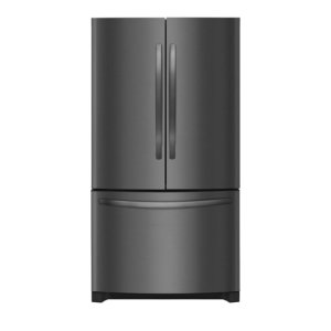 27.6 Cu. Ft. French Door Refrigerator - BLACK STAINLESS STEEL