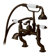 Rim Mount Tub Filler with Hand Shower