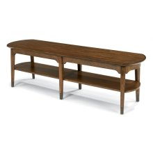 Gemini Bench Coffee Table-Floor Sample-**DISCONTINUED**