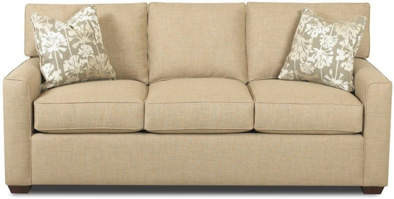 k51400s in by klaussner in mechanicsburg pa three cushion sofa