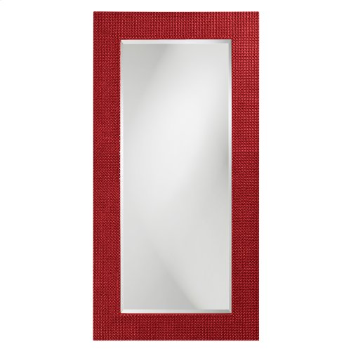 Lancelot Mirror - Glossy Red