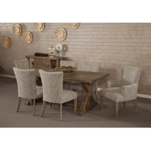 Rustica Ash Grey Dining table