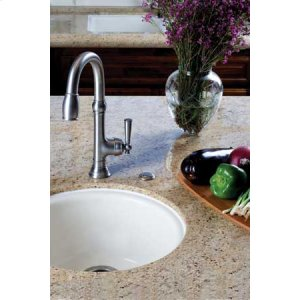Gloss Black Prep/Bar Faucet