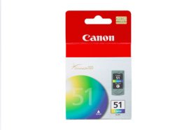 Canon CL-51 High Capacity Color Ink Cartridge CL-51 High Capacity Color Ink Cartridge