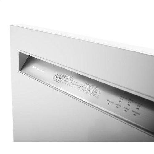 KitchenAid® 46 DBA Dishwasher with ProWash™, Front Control - White