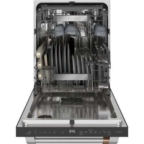 Café Stainless Interior Built-In Dishwasher with Hidden Controls