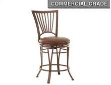 "Baltimore Swivel Counter Chair, 19""x17""x42"""