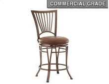 "Baltimore Swivel Counter Chair, 19""x17""x42"""