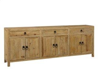 Large Old Elm Sideboard