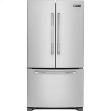 """Jenn-Air 69"""" Counter-Depth, French Door Refrigerator with Internal Water/Ice Dispensers, Pro-Style® Stainless Handle"""