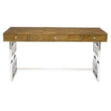 Soho Luxe Desk in Dark Caramel (368)