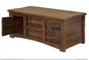 Cocktail Table w/ 4 Drawers & 4 Doors Product Image