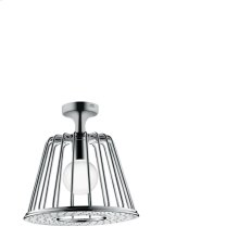 Chrome LampShower 275 1jet with ceiling connector