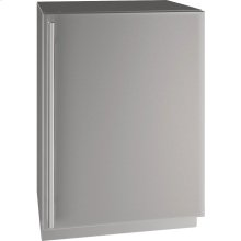 "5 Class 24"" Refrigerator With Stainless Solid Finish and Field Reversible Door Swing (115 Volts / 60 Hz)"