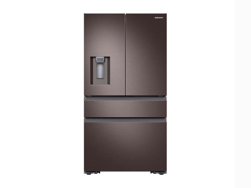 Samsung23 Cu. Ft. Counter Depth 4-Door French Door Refrigerator In Tuscan Stainless Steel