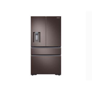 Samsung23 cu. ft. Counter Depth 4-Door French Door Refrigerator in Tuscan Stainless Steel