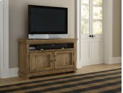"""54\"""" Console - Distressed Pine Finish"""