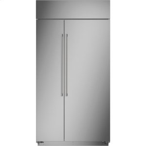 "MonogramMonogram 42"" Smart Built-In Side-by-Side Refrigerator"