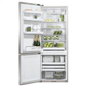 "FISHER & PAYKELFreestanding Refrigerator Freezer, 25"", 13.5 cu ft, Ice & Water"