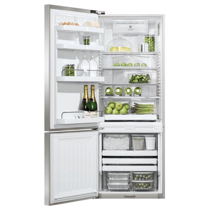 "Freestanding Refrigerator Freezer, 25"", 13.5 cu ft, Ice & Water"