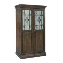 Monaciano Wine & Bar Cabinet
