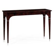 Black Eucalyptus Rectangular Console Table