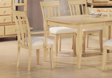 "DINING CHAIR - 2PCS / IRISH CREAM ""MODERN"""