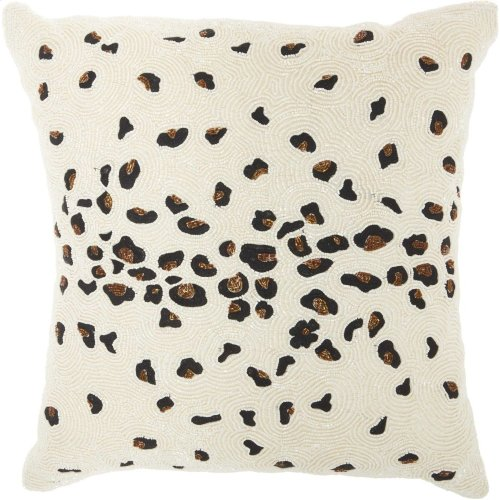 "Luminescence Z4473 Ivory 20"" X 20"" Throw Pillows"