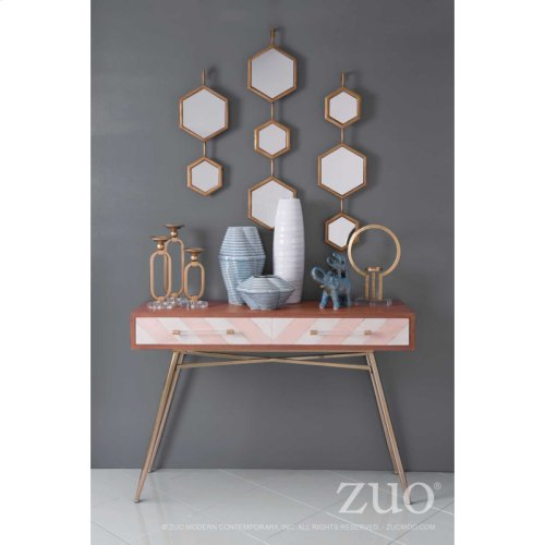Bee Mirror 2 Gold