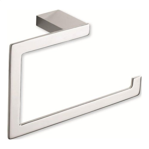 Parker Bath Towel Ring - Polished Chrome