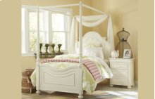 Charlotte High Poster Bed Twin