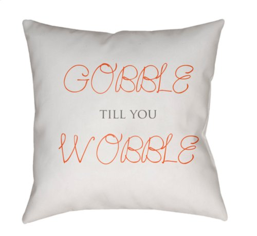 "Gobble Till You Wobble GOBBLE-001 20"" x 20"""
