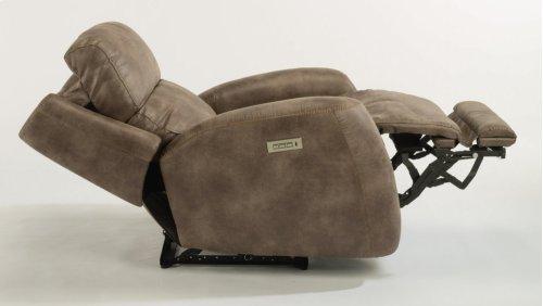 Zelda Fabric Power Recliner with Power Headrest