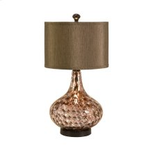 Palmera Mercury Glass Lamp