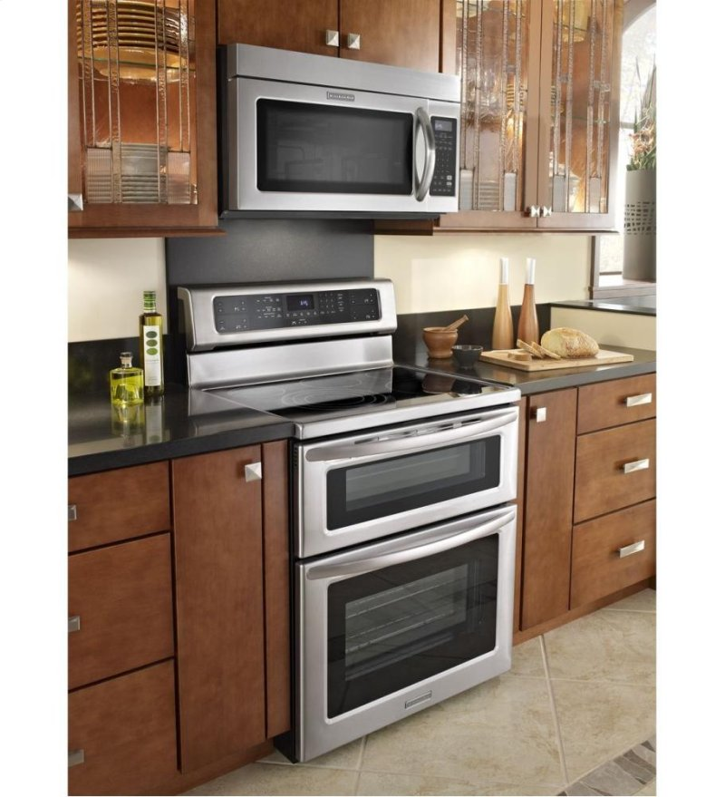 Kitchenaid 30 1000 Watt Microwave Hood Combination Oven Architect Series
