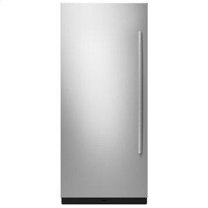"Jenn-Air36"" Built-In Column Refrigerator with Euro-Style Panel Kit, Left Swing"