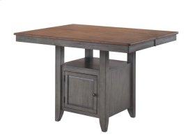 St. Pete Gathering Table with Square Storage Base