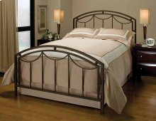 Arlington Bed Set In Bronze Metal (bed Frame Included) - Full