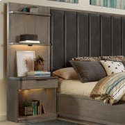 Precision - Tall Pier Nightstand - Gray Wash Finish Product Image