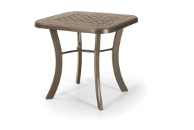 """22"""" Square End Table"""